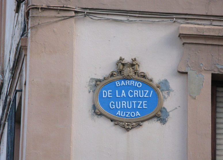 fancy streetname sign
