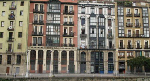 riverside buildings - facade