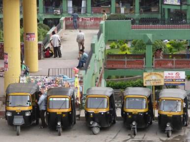 auto rickshaw stand