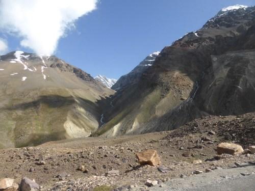 rocky mountain pass