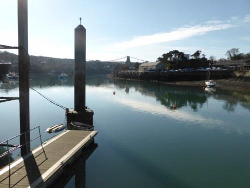 view across to bridge and jetty