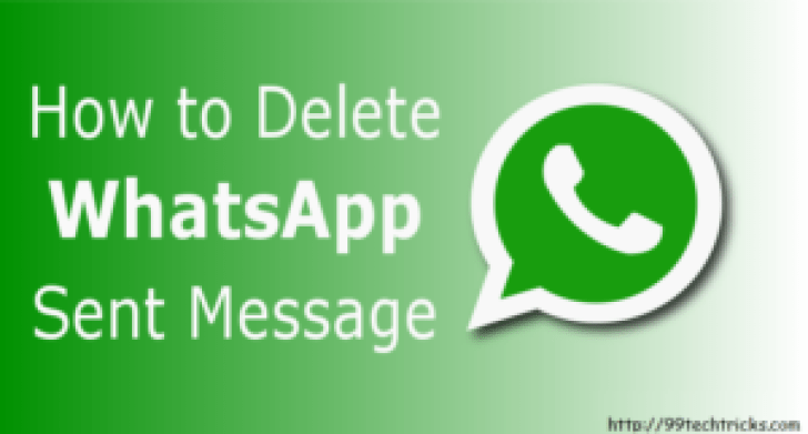 How To Recall Sent messages In Whatsapp Before Read