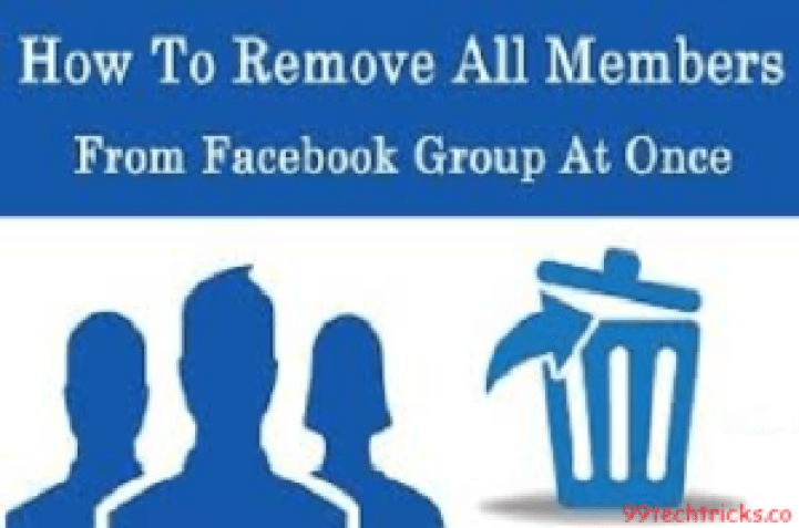 how to remove facebook group members