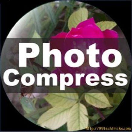 Photo Compresser