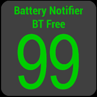 set low battery notification