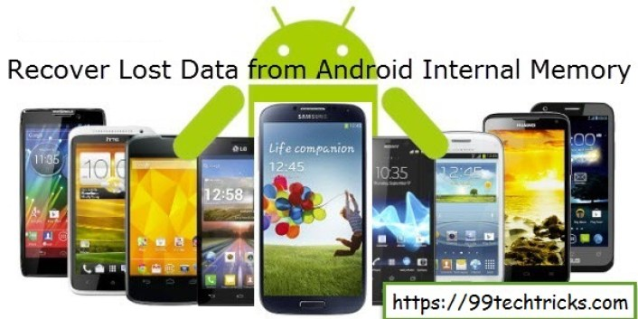 How To Recover Deleted Data From Android Phone Internal Memory