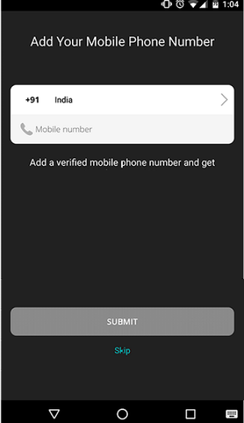 Create Whatsapp with US number