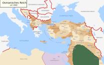 Osmanisches Reich um 1900