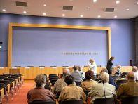Saal der Bundespressekonferenz
