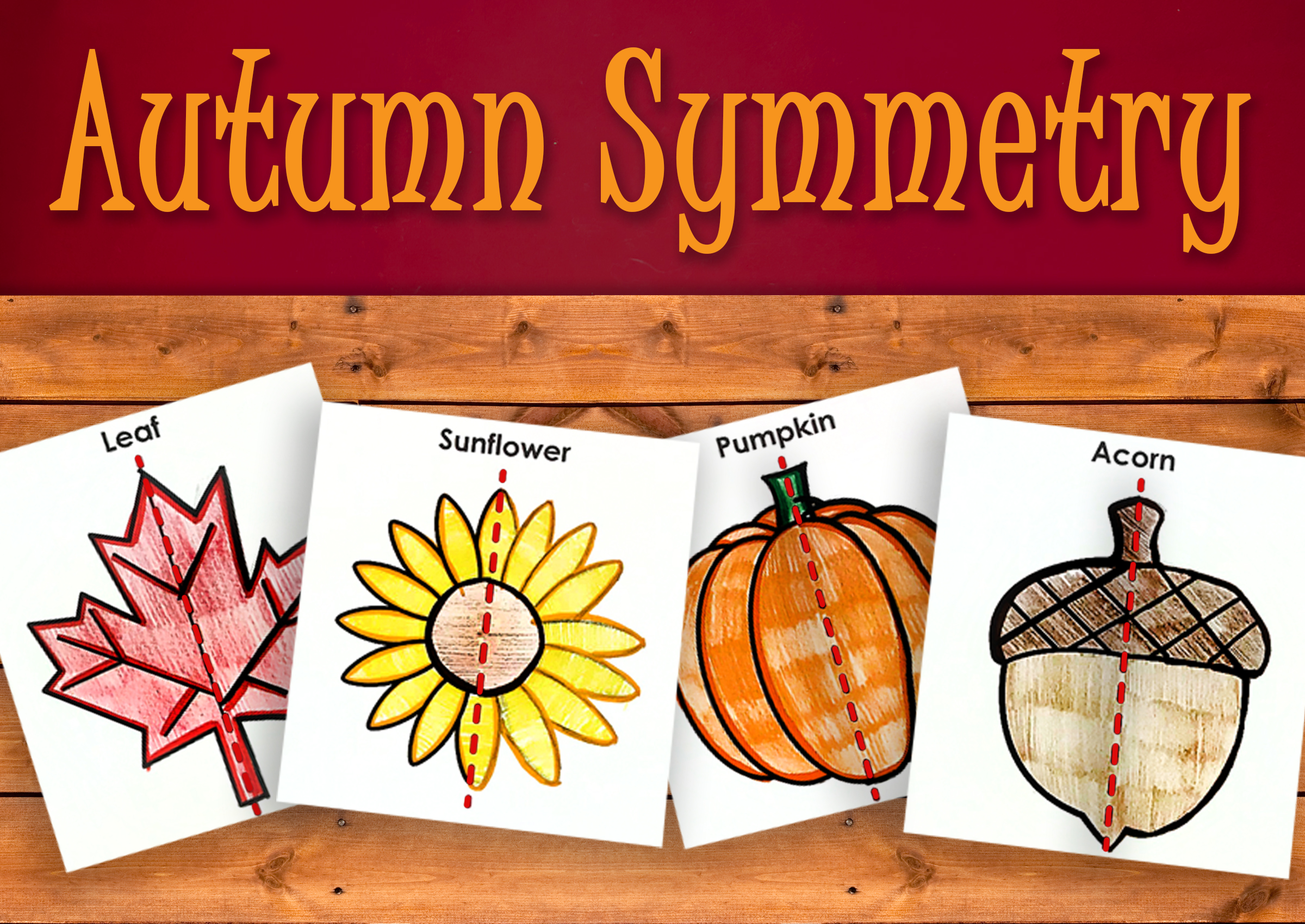 Autumn Symmetry Activity