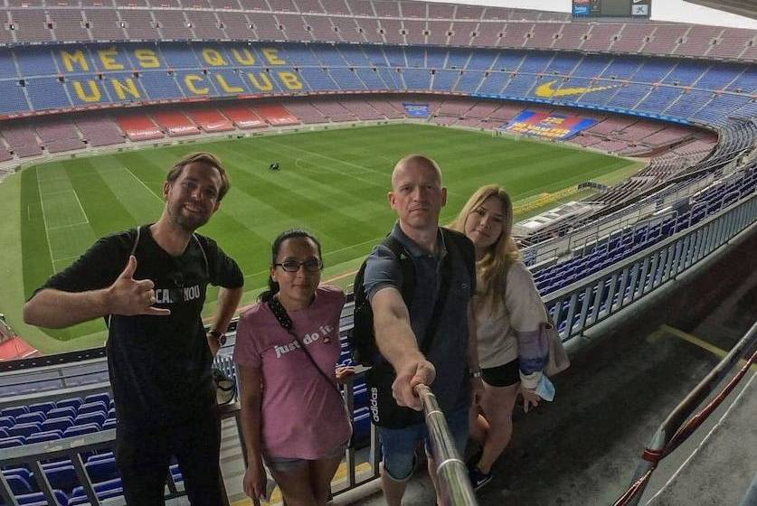 Barcelona Football Tour