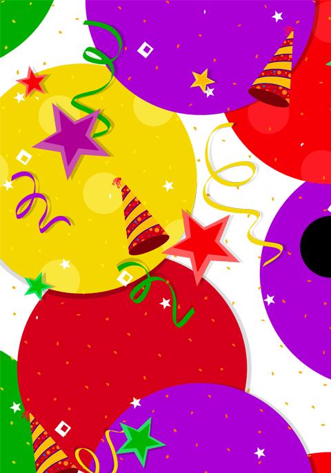 Balloon Fun Custom Gift Card Design for Shopify