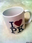 I ♥ PK マグカップ