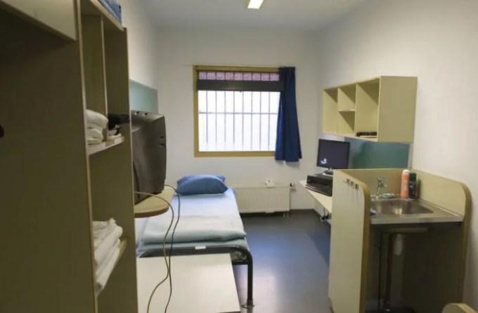 UN Detention Unit, Outside The Hague, Netherlands