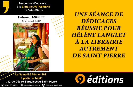 Séance de dédicaces réussie pour Hélène Langlet