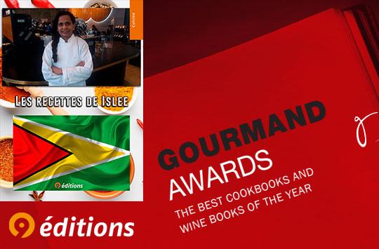 Les recettes d'Islee sélectionné pour les Gourmand World Cook Awards