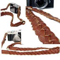 Camera strap-leather-weave-6