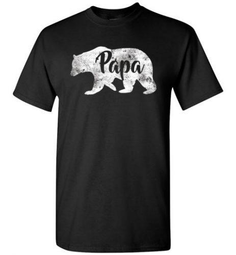 Papa Bear Tshirt, Mama Bear Shirt, Matching Family Shirt For Mom and Dad