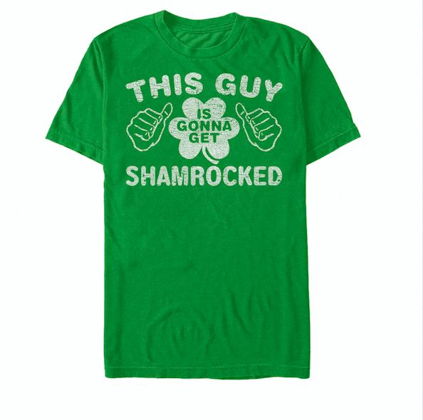 This guy is gonna get a shamrocked