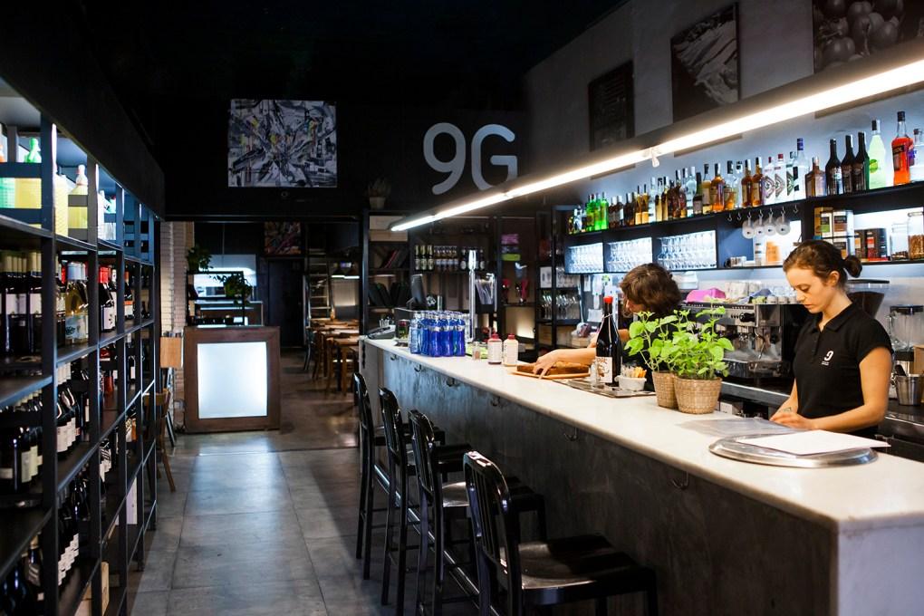 restaurante, 9 Granados, tapas