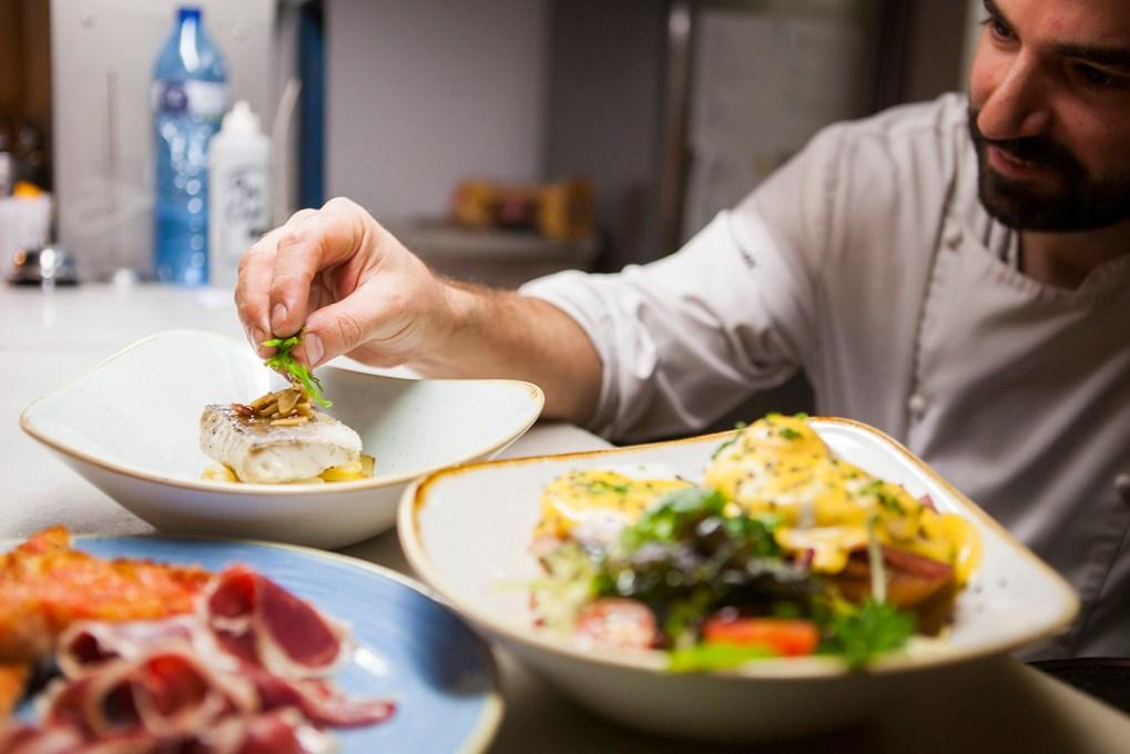 Chef, Comida, tapas, restaurante, 9 Granados, alta taberna