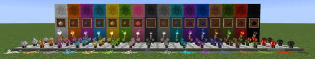 Colored Redstone Mod Screenshots 1