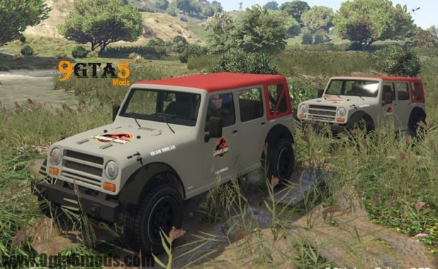 Jurassic Park Vehicles Crusader