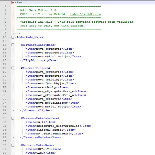 AddonPeds - Menu add skin GTA5 - 9gta5mods com