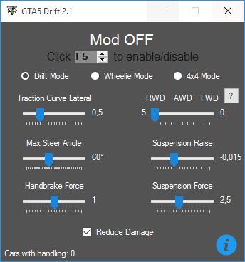 GTA 5 Drift Mod