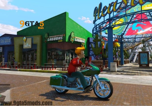 Philip J. Fry (Futurama) – Player Mods For GTA5 6