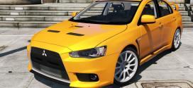 Mitsubishi Lancer Evo X –  Gta vs Gta