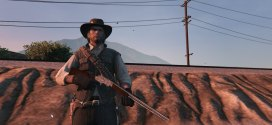 Winchester from Red dead redemption –  Gta 5 Gta V