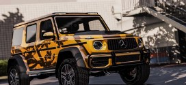 2019 Mercedes Benz G63 4X4 – gtaV car