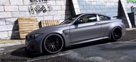 GtaV – BMW M4 GTS Liberty Walk V1.6 [Add-On|Tuning]