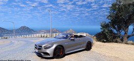 GtaV – Mercedes-Benz S63 AMG Cabriolet V1.2 [Add-On|Replace]