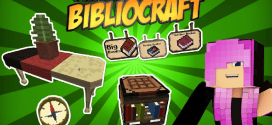 Instructions to download and install BiblioCraft Mod