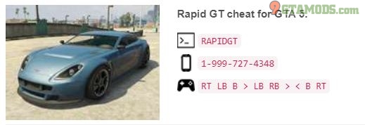 RAPIDGT - Free Game Hacks