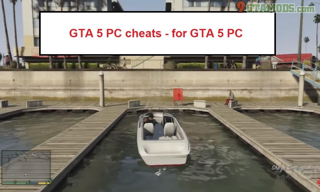 gta 5 cheats pc 1 - Free Game Hacks