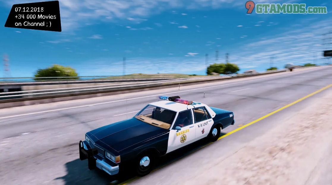 1986 Chevy Caprice 9C1 [Los Angeles County Sheriff's Dept] - 6