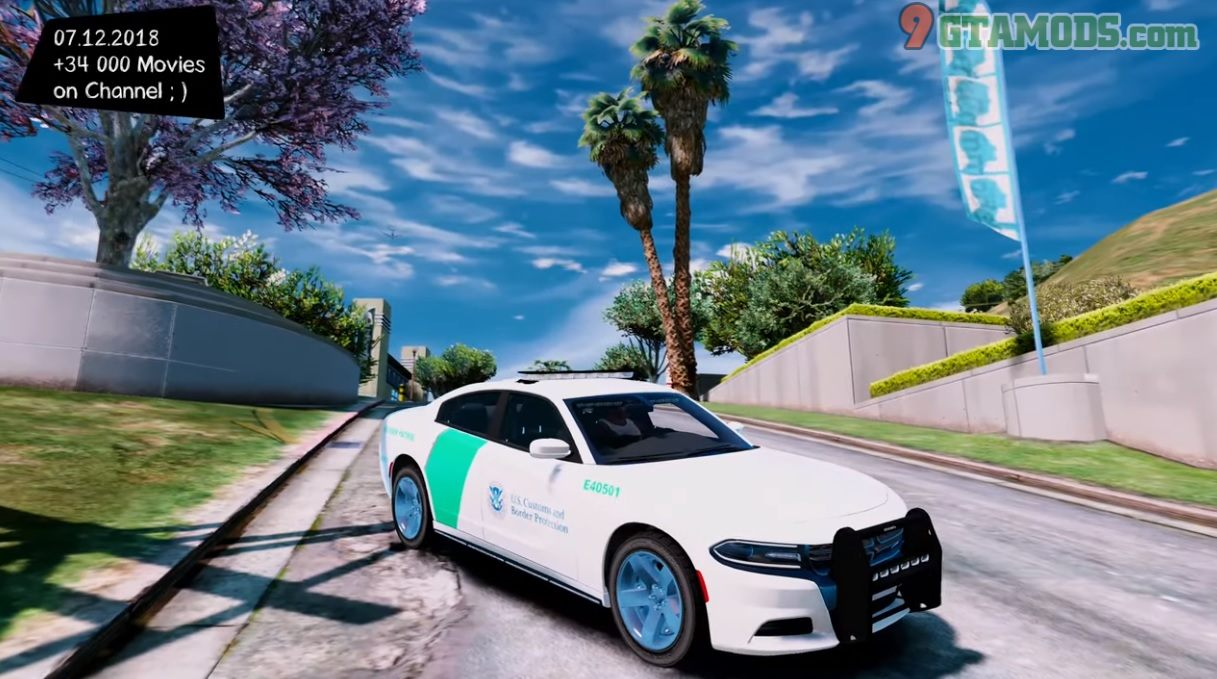 2018 Dodge Charger [US Border Patrol] V1.0 - 1