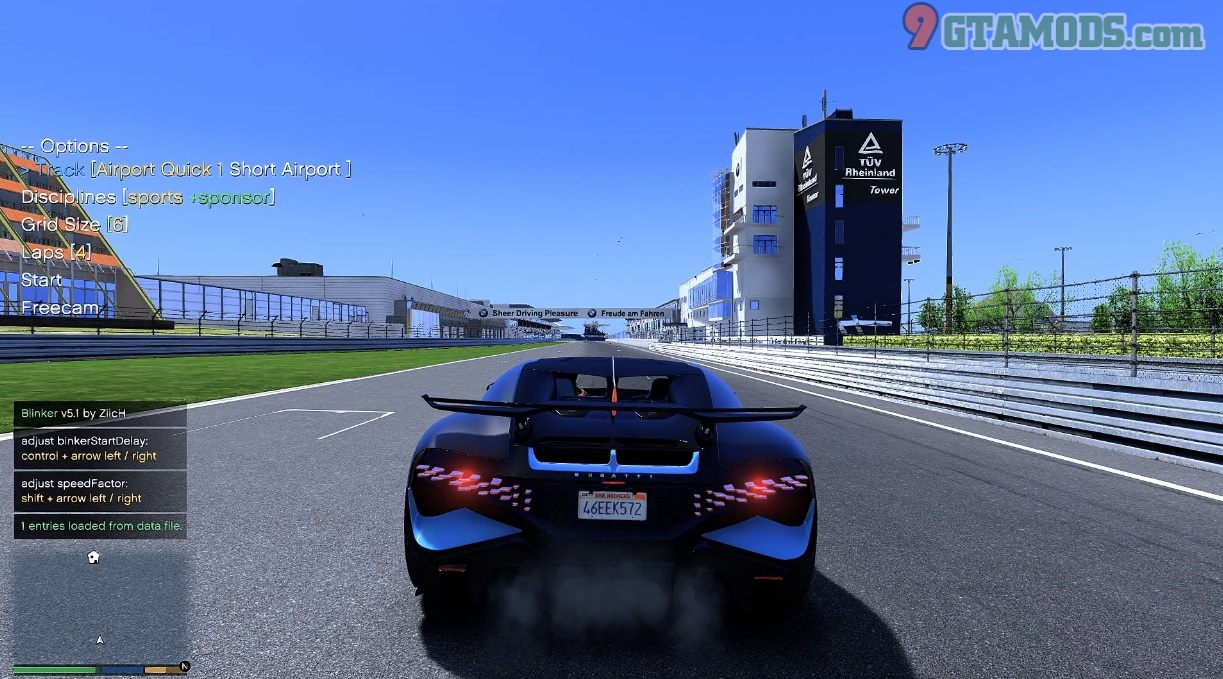 ARS Racetracks for Nurburgring and Lakeside Run V1.0 - 1