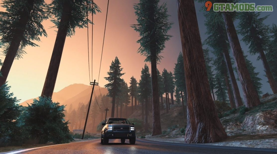 Forests of San Andreas V1.8 - 1