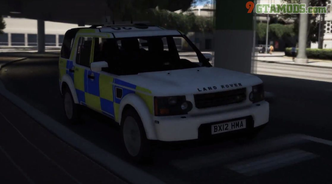 Land Rover Discovery 4 [West Midlands Police] V1.0 - 2