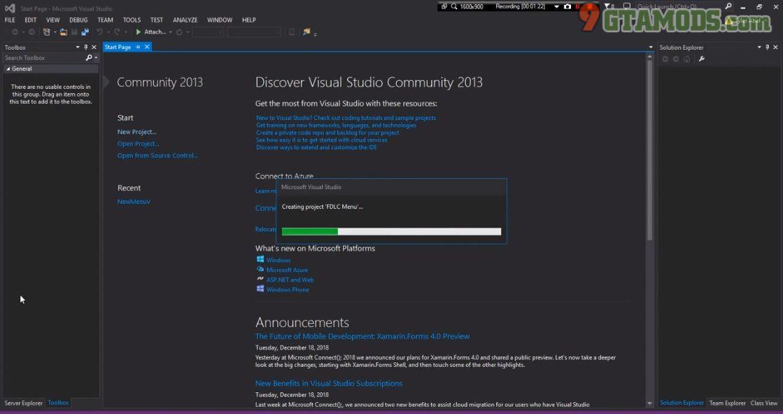 Native UI Mod Menu Template V3 0 - gtaV tool - 9GtaMods com