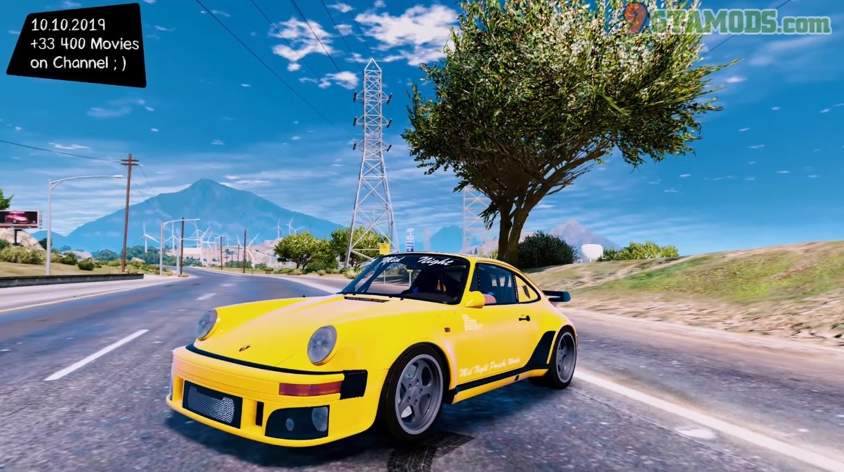 Porsche 930 Midnight Club V1.0 - 1