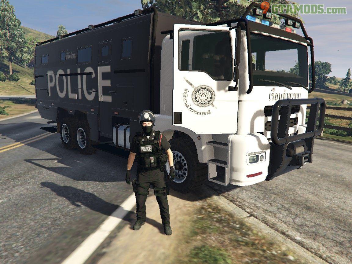 Royal Thai Police Prison Transport V1 - 2
