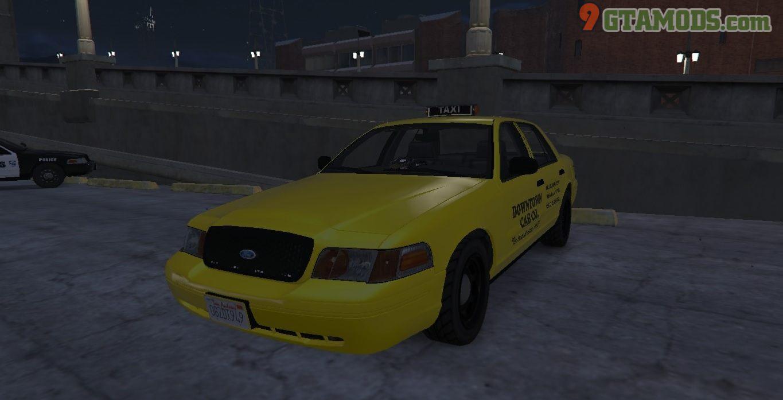 Los Santos Ford Crown Victoria Taxi Texture - 4