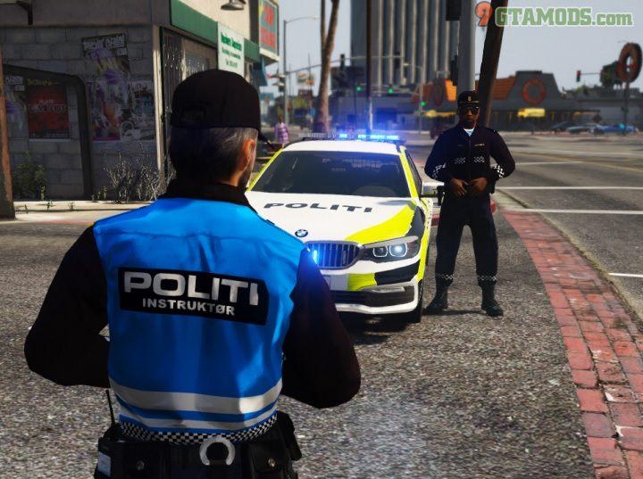 Norwegian 2017 BMW G31 Police V1 - 2