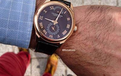 Revue poignet de mon ami Geoffrey de luxe-montre.com / Rotekson