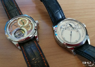 Parallax tourbillon & One Hertz